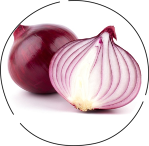 Red onion for freckles